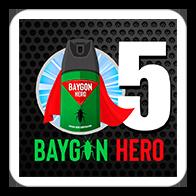 Baygon Hero 5